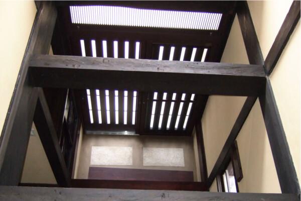 After:2階ホール~玄関土間(玄関上吹抜け)